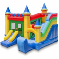 Commercial Castle Inflatable Bounce House with Slide by Cloud 9