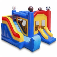 Commercial Sports Inflatable Bounce House w/ Slide & Blower by Cloud 9