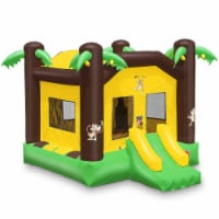 17'x13' Commercial Inflatable Jungle Bounce House w/ Blower by Cloud 9 - 1