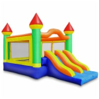 Commercial Mega Double Slide Castle Bounce House w/ Blower by Cloud 9