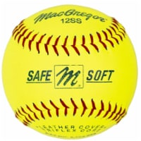 MacGregor 12 Inch Safe/Soft Training Sftball- pack of 12