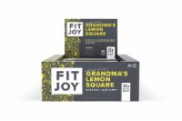 FitJoy  Grandma's Lemon Square Protein Bar 12 Count