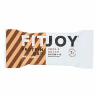 Fitjoy - Bar Mini Cky Dgh Brownie - Case of 16 - 0.77 OZ