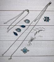 Necklace, Bracelet, Earring Jewelry Kit- - 1