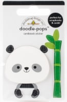 Doodlebug Doodle-Pops 3D Stickers -At The Zoo Polly Panda - 1