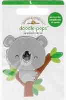 Doodlebug Doodle-Pops 3D Stickers -At The Zoo KC Koala - 1