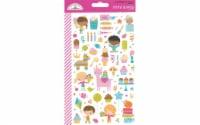 Doodlebug Hey Cupcake Sticker Mini Icon - 1
