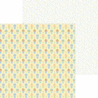 Special Delivery Double-Sided Cardstock 12 X12 -Bundled Up - 1