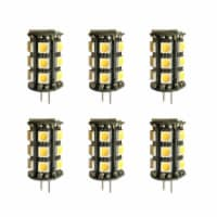 LED G4 OUTDOOR RATED light bulb,35W EQUIVALENT, INPUT VOLTAGE 8-18V AC 6 PACK