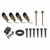 Aera cast brass landscape lighting full starter pack of 6 kit 1 - 1