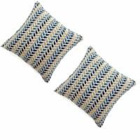 Benzara Contemporary Drop Pillows 2 Pack