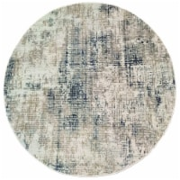 Dynamic Rugs QUR527035190 5 x 3 ft. Quartz 27035 Rectangle Traditional Area Rug - 190 Grey