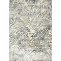 Dynamic Rugs CC283537950 2 ft. 2 in. x 7 ft. 7 in. Castilla 3537 Rectangle Modern Area Rug -