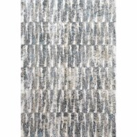 Dynamic Rugs AX695810900 5 ft. 3 in. x 7 ft. 7 in. Aura 5810 Area Rug, 900 Grey