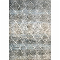 Dynamic Rugs AX9125812910 7 ft. 10 in. x 10 ft. 10 in. Aura 5812 Area Rug, 910 Grey & Ivory