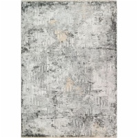 Dynamic Rugs ZS7106682999 6 ft. 7 in. x 9 ft. 6 in. 6682 Sunrise Area Rug, 999 Grey, Charcoal