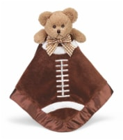 Bearington Baby  Stuffed Animal Security Blanket - Teddy Bear - Football