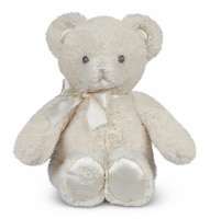 Bearington Baby Baby's First Teddy Bear Small Plush Animal - Creamy White