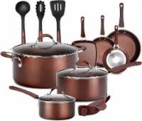 NutriChef NCCW14S 14-Piece Kitchenware Pots and Pans Set - 1