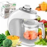 NutriChef Electric Baby Food Maker Puree Food Processor, Blender, and Steamer - 1 Unit