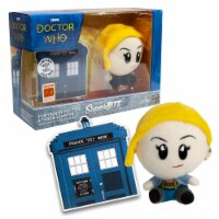 Doctor Who Super Bitz 13th Doctor Plush And Tardis Coaster Set -Limited Edition