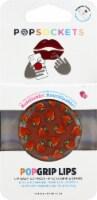 PopSockets PopLips Strawberry Feels Lip Balm & Phone Grip - Red