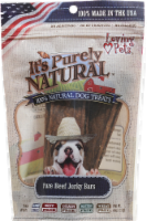 Loving Pets Products It's Purely Natural Pure Beef Jerky Bars Dog Treat