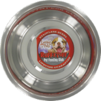 Loving Pets Ruff-N-Tuff Stainless Steel Pet Feeding Dish