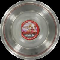 Loving Pets Ruff-N-Tuff Stainless Steel Pet Feeding Dish