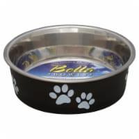 Loving Pets Small Espresso Bella Bowl