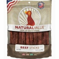 Natural Value Treats 14oz-Beef Sticks - 1