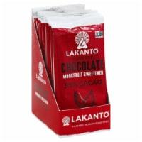 Lakanto Sugar Free 55% Cacao Chocolate Bar, 3 Ounce (8 Pack). - 8 Bars/ 3 Ounce