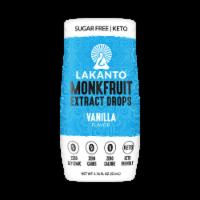 Lakanto Vanilla Flavor Monkfruit Extract Drops - 1.76 fl oz