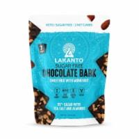 Lakanto Sugar Free Chocolate Bark - Sea Salt and Almonds, Sweetened with Monkfruit (5 Oz) - 1 count