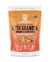 Lakanto Sugar Free Cinnamon Almond Crunch Granola - Sweetened with Monkfruit (11 Oz) - 1 count