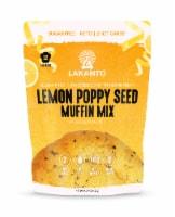 Lakanto Sugar Free Lemon Poppy Seed Muffin Mix - Sweetened with Monkfruit (12 Muffins) - 1 count