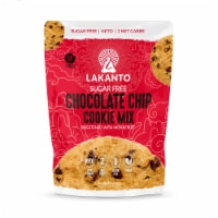 Lakanto Sugar Free Chocolate Chip Cookie Mix - Sweetened with Monkfruit (12 Cookies) - 1 count