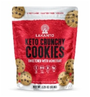 Lakanto Sugar Free Mini Chocolate Chip Cookies - Sweetened with Monkfruit (Pack of 6) - 6 count