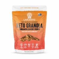 Lakanto Sugar Free Cinnamon Almond Crunch Granola - Sweetened with Monkfruit (25 Oz) - 1 count