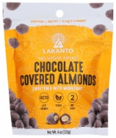 Lakanto Sugar Free Chocolate Covered Almonds - Sweetened with Monkfruit Sweetener (Pack of 2) - 2 count