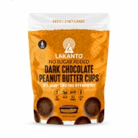 Lakanto Sugar Free Chocolate Peanut Butter Cups - Sweetened with Monkfruit (Pack of 2) - 2 count