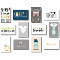 36-Pack Assorted Greeting Card w/ Envelopes, mostly Congratulations Cards, 4 x6 - PACK