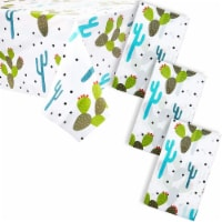 Juvale Cinco De Mayo Party Supplies, Cactus Table Cloth (54 x 108 in, 3 Pack) - Pack