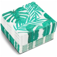 Tropical Leaf Paper Napkins for Hawaiian Luau Birthday Party (6.5 x 6.5 In, 150 Pack) - PACK