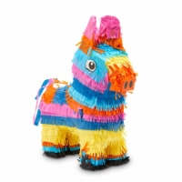Donkey Pinata for Fiesta, Kids Birthday Party, Cinco De Mayo Decorations, 12.5 x 15 x 4.7 In - PACK