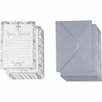 60-Pack Religious Invitation Cards & Envelopes For Baptism Wedding Invites - PACK