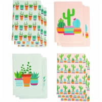 Paper Junkie Mini Cactus Journal Notebooks, Party Favors (3.5 x 5 Inches, 12-Pack) - PACK