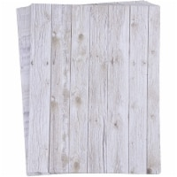 Rustic Wood Stationery Paper, Letter Size (8.5 x 11 in, 96 Sheets) - PACK