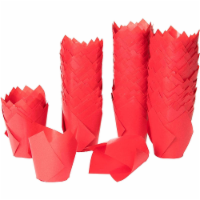 Tulip Cupcake Liners, Paper Baking Cups (3.5 Inches, Red, 300 Pack) - PACK