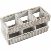 Wooden Desk Organizer, Pen and Pencil Holder (9.5 x 4.25 in.) - PACK